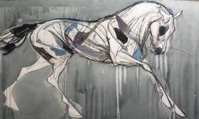 Floating Horse II