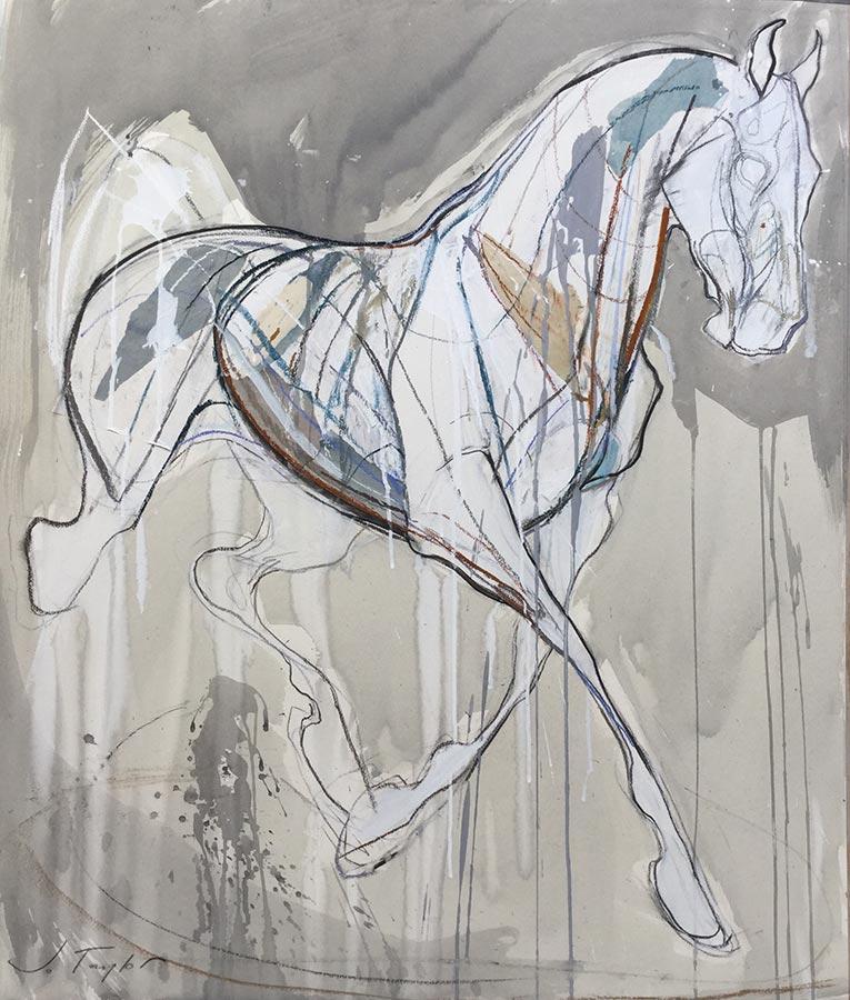 Floating Horse